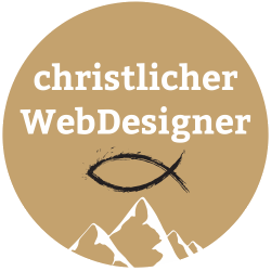 Christlicher Webdesigner, christliches Webdesign, Jesus